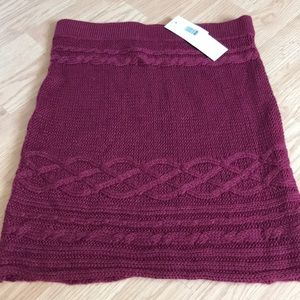 Pink Rose Women's sweater skirt size small